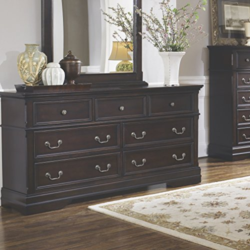 Coaster Home Furnishings Cambridge 7-Drawer Dresser Cappuccino Collection Seven Drawer Dresser