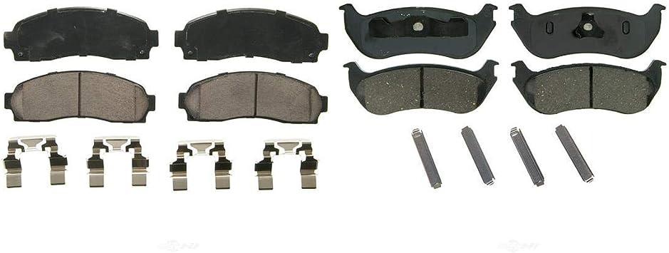 Max Performance Metallic Brake Pad 06-10 Explorer Mountaineer Front + Rear