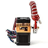 ETbotu Single-Head Printer Extruder with 0.4MM Nozzle 3D Printers Parts (1.75MM ABS Or PLA Print Material) School Office Supplies