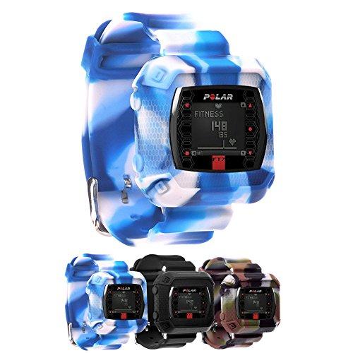 Polar Heart Rate Monitor Wrist Strsap (ft4/ft7),  Blue ca...
