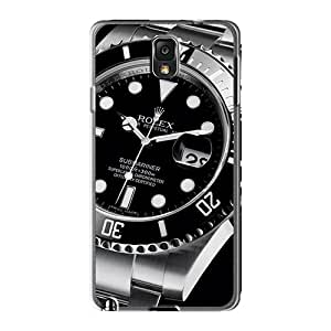 Scratch Protection Hard Cell-phone Cases For Samsung Galaxy Note 3 (WKT444rBbV) Unique Design Fashion Rolex Submariner 116610 Watches Classic Pictures