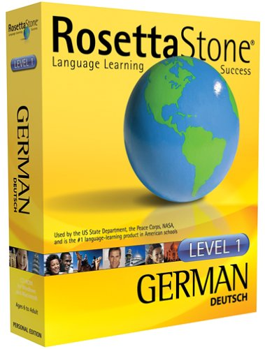 Rosetta Stone V2: German Level 1 [OLD VERSION]
