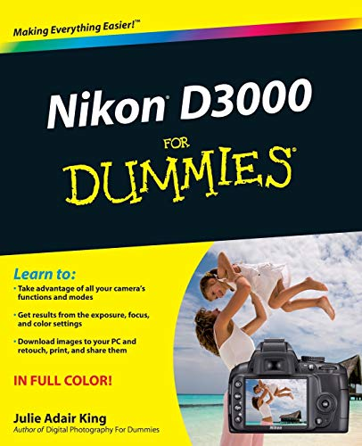 Nikon D3000 For Dummies (Nikon D3000 Camera)