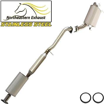 Fuill Exhaust System Muffler New For 2003-2004 G35 Rear Wheel Drive 4 Door Sedan