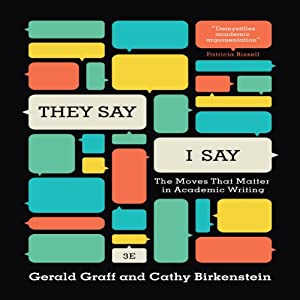 graff birkenstein Gerald graff, cathy birkenstein, russel durst edition: third book condition: good  the moves that matter in academic writing, with readings (third edition.