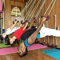 Kit de eslinga de cuerda para colgar en la pared de yoga ...