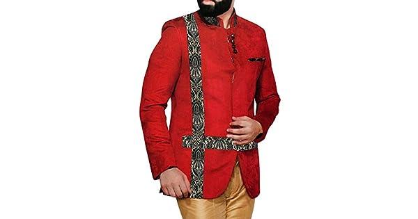 Amazon.com: INMONARCH traje de hombre rojo carmesí 3 pc ...