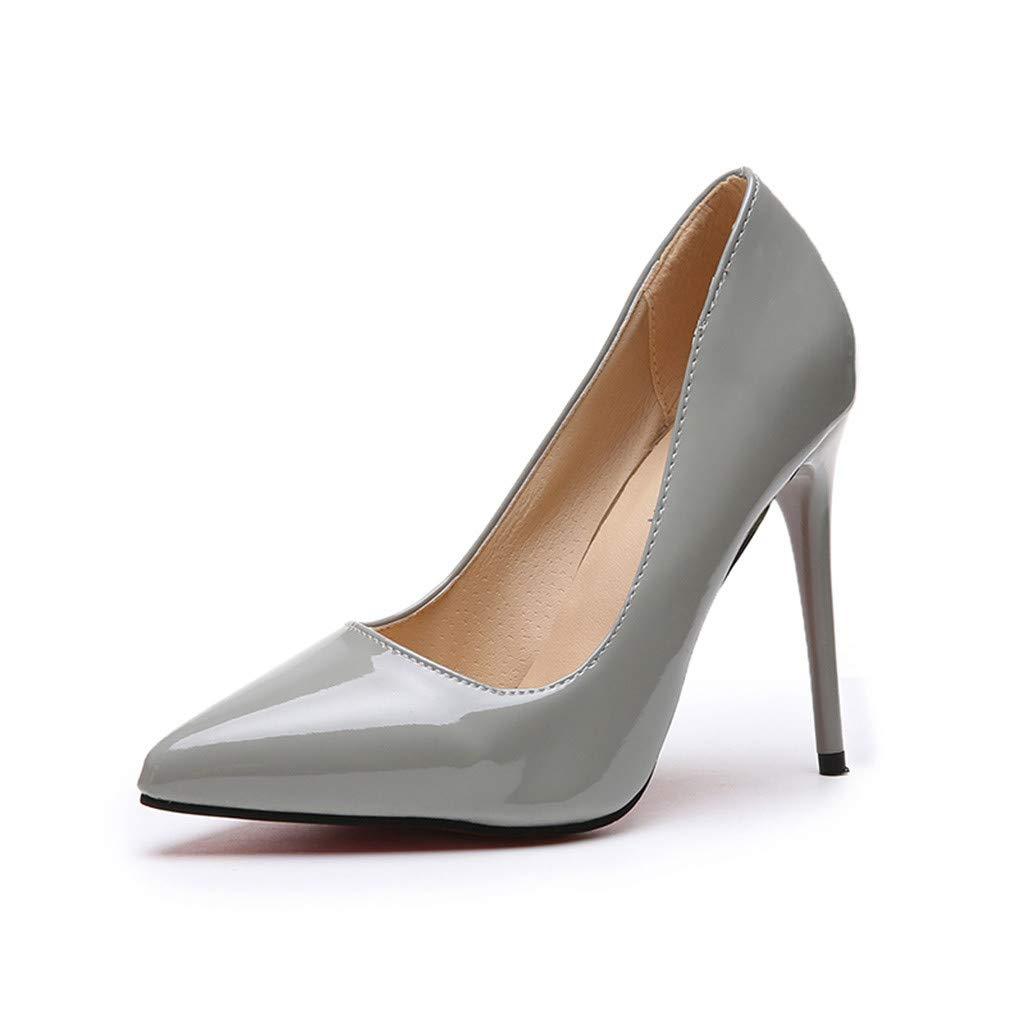 GNYD Damenmode Spitze Feste High Heels Einzelne Business Schuhe