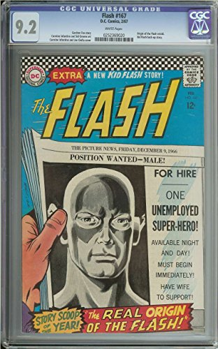 FLASH #167 CGC 9.2 WHITE - Flash 167