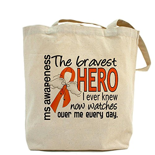 Bravest Cafepress I Hero Lona Bolsa Medium Knew Caqui Ms pdrdSg
