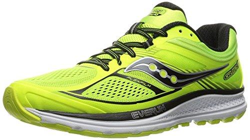 Saucony Mens Guide 10 Running Shoes, Verde, 40 D(M) EU/6 D(M) UK