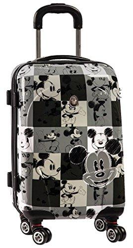 koffertrolley maletín escolar con ruedas Niños Maleta–Mickey Mouse–Mickey Mouse–Negro–weiee–Disney––Equipaje de viaje rígida–Maletín rígido