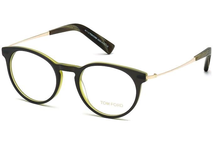 0821c167b7c Tom Ford FT5383 C51 098 (dark green other   ) Polarized Frames   Amazon.co.uk  Clothing
