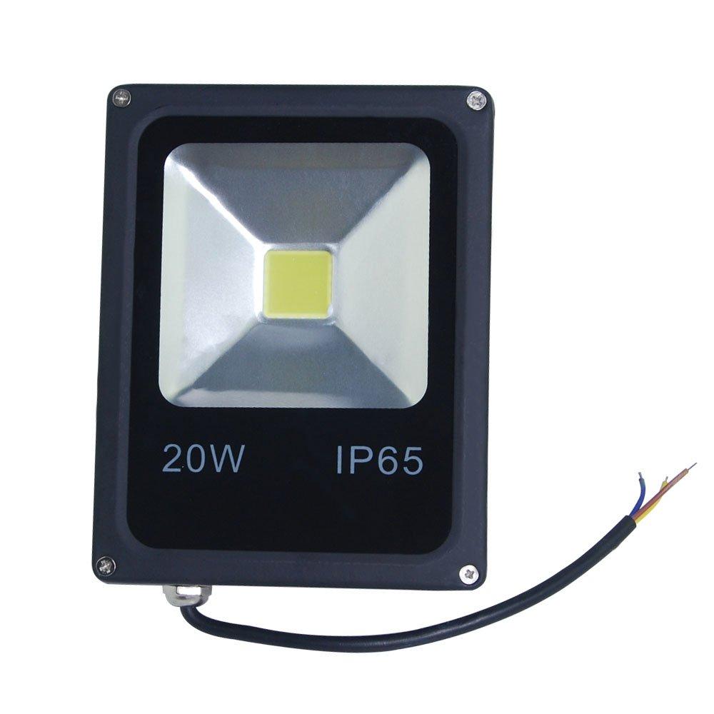 THG 4-er Set 20W Ultraheller LED Fluter, LED Flutlicht, ersetzt 200W Halogenlampe, wasserdicht IP65, 2000-2500Lm, kaltweiß, LED Flutlicht, LED Außenleuchten, LED Flutlichtstrahler, LED Strahler, LED Scheinwerfer