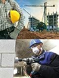 KIM YUAN Leather Work Gloves Grain Cowhide for Yard Work, Gardening, Farm, Warehouse, Construction, Motorcycle, with Elastic Wrist, Men & Women Medium