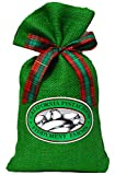 Fiddyment Farms 1 Lb Lightly Salted Pistachios in Green Burlap Bag