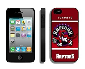 Top Case for Iphone 4 4s NBA Toronto Raptors 02 Sports Element Coolest Custom Made Mobile Accessories