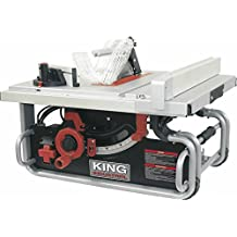 King Industrial KC-5015C 10-inch Portable Jobsite Table Saw