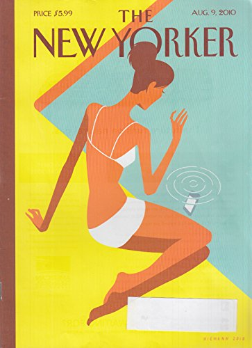 Drop Bikini - New Yorker cover Niemann bikini drops cellphone in pool 8/9 2010