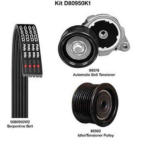 Gates 90K-39185 Complete Serpentine Kit