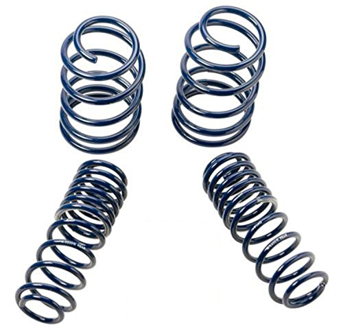 2005-2014 Mustang GT Coupe Front & Rear Lowering Springs M-5300-KA
