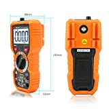 Sale!! PM18 Digital Multimeter Measuring Instrument Advanced Version AC DC Mini Auto-Ranging Digital Amp Ohm Volt Multimeter with LCD Backlight Non Contact Voltage Detection,and Multi Tester —Tektree