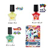 Aikatsu! Aikatsu Cosmetics peel-off nail colors Triple Set