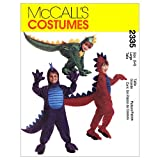 McCall's Patterns M2335 Children's, Boys' and Girls' Dragon Costume, Size MED