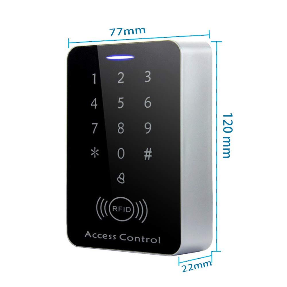 AMAO 125KHz Tarjetas de Control de Acceso Teclado Táctil ...