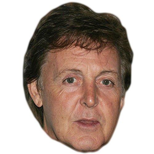 Paul McCartney Celebrity Mask, Card Face and Fancy Dress Mask]()