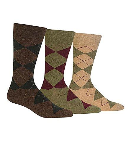 Polo Ralph Lauren Classic Argyle Cotton Socks - 3 Pack (8091PK) Hemp One - Origin Lauren Country Of Ralph