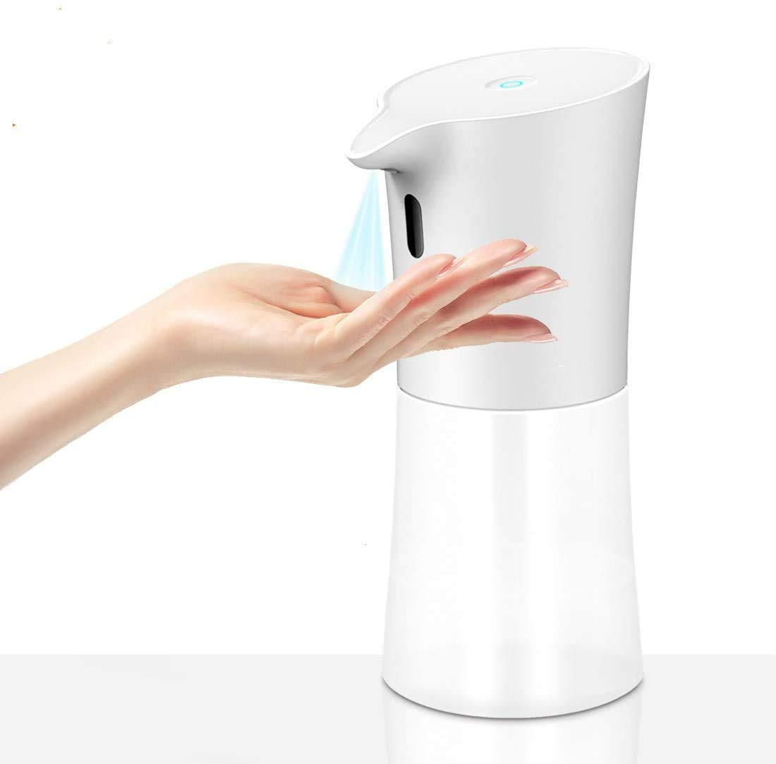 Automatic Hand Soap/Sanitizer Dispenser Kit - Table liquid Dispenser Pump Station 13.5 oz. Alcohol-Based Sprayer
