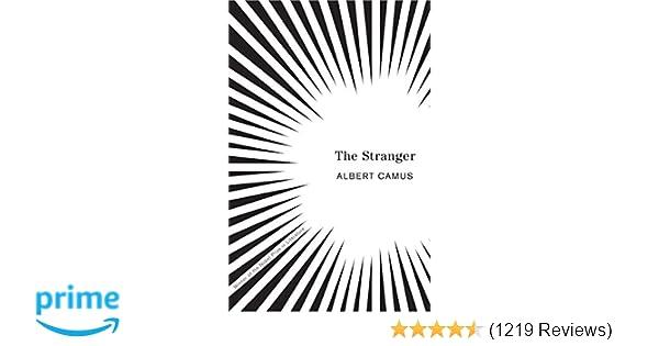 Amazoncom The Stranger 9780679720201 Albert Camus