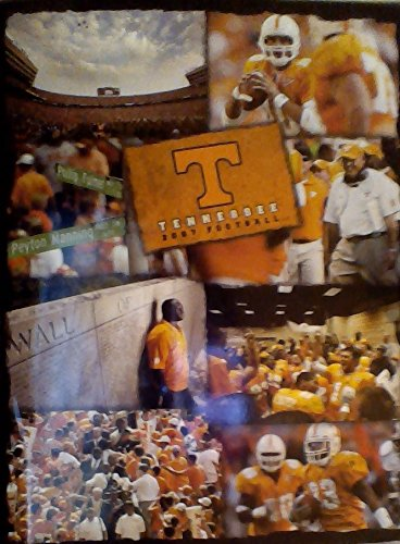2007 University of Tennessee Volunteers Football Guide (Phillip Fulmer & various players on the covers)