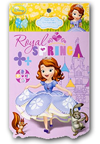 Disney Princess Spring (Princess Sofia Royal Spring Easter Stickers)