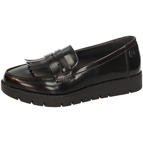 XTI 46264 Mocasines Moda Mujer Zapatos MOCASÍN MARRÓN 36: Amazon.es: Zapatos y complementos