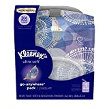Kleenex Ultra Soft Facial Tissues, 1 Go-Anywhere Pack, 30 Tissues Total