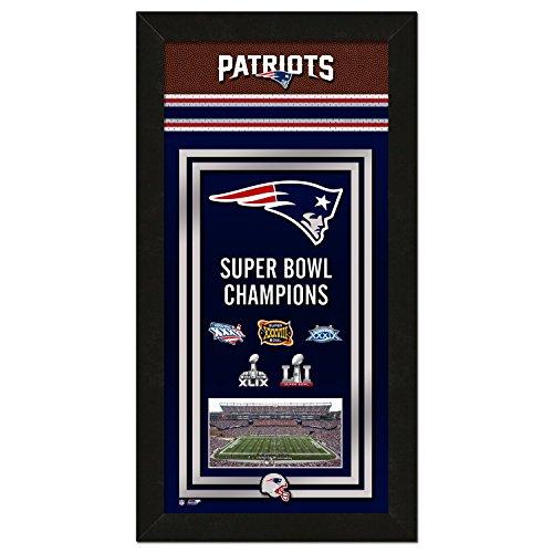 Photo File NFL New England Patriots Super Bowl 51 Championship Banner, 14.5
