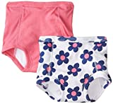 Gerber Baby Girls' 2 Pack Training Pant with Peva Lining