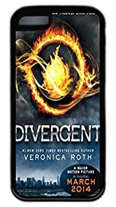 iPhone 5C Cases VUTTOO Divergent TPU Rubber Soft Case Back Cover for iPhone 5C ¡§C Black