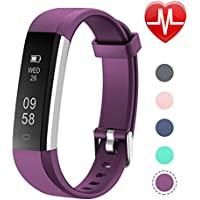 Letsfit Fitness Tracker with Heart Rate Monitor, Slim...