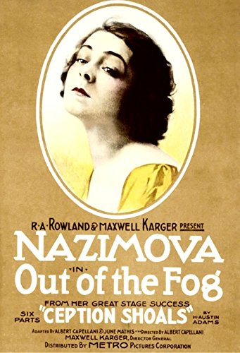 Fog Movie Poster (Out Of The Fog Alla Nazimova On Poster Art 1919 Movie Poster Masterprint (11 x 17))