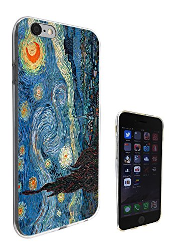 905 - Vincent Van Gogh Starry Night Design iphone 6 6S 4.7'' Fashion Trend Silikon Hülle Schutzhülle Schutzcase Gel Rubber Silicone Hülle