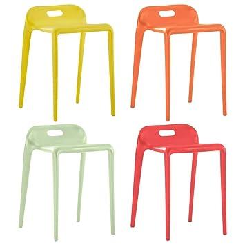 Festnight Set 4 pz Sgabelli Sala da Pranzo Design Moderne in
