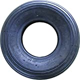 Shepherd Hardware 3340 4.00x6-Inch Wheelbarrow Replacement Tire, 13-Inch, Ribbed Tread