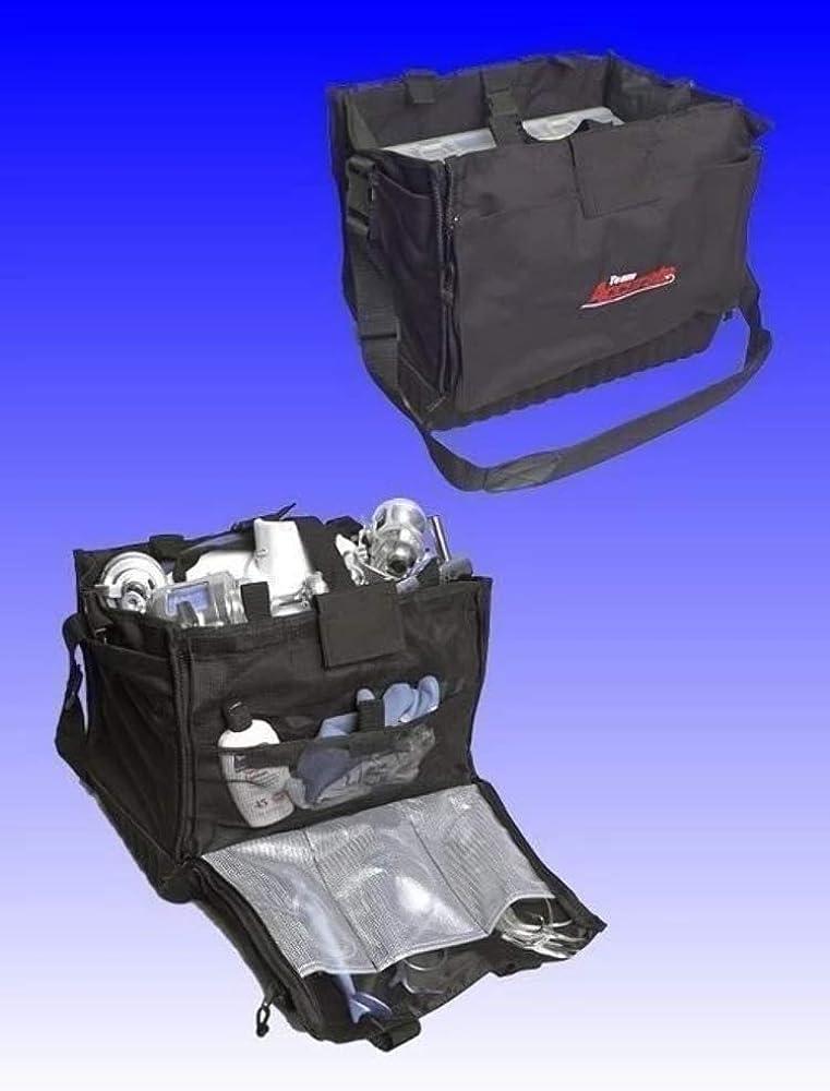 Hold 6 Trays Reel Power Handles Panga Tackle Bag with Tuna Tamer Logo