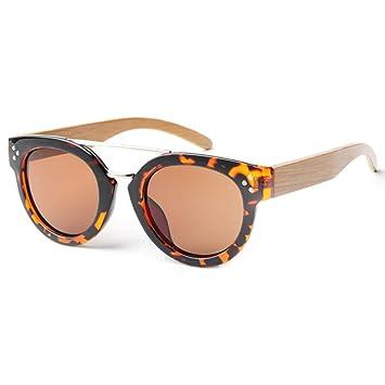 GSSTYJ Gafas de bambú y Madera Gafas de Sol Gafas de Sol ...