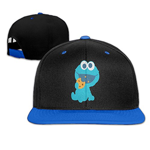 Cookie Monster Eating Cookie Infant Unisex Trucker Hat Sports Hip-hop Caps (Cookie Monster Headband)