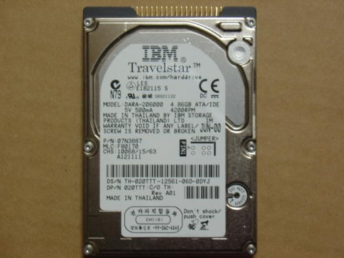 IBM DARA-206000 6gb disk , 4200RPM, 2.5 (GP64B/R-B22-1CTP) EMC