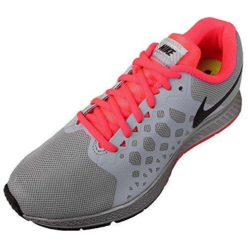 Nike Women's Wmns Zoom Pegasus 31 Flash, REFLECT SILVER/BLACK-WLF GREY-HYPR PINK, 11.5 M US (Nike Air Zoom Pegasus 31 Flash Womens)
